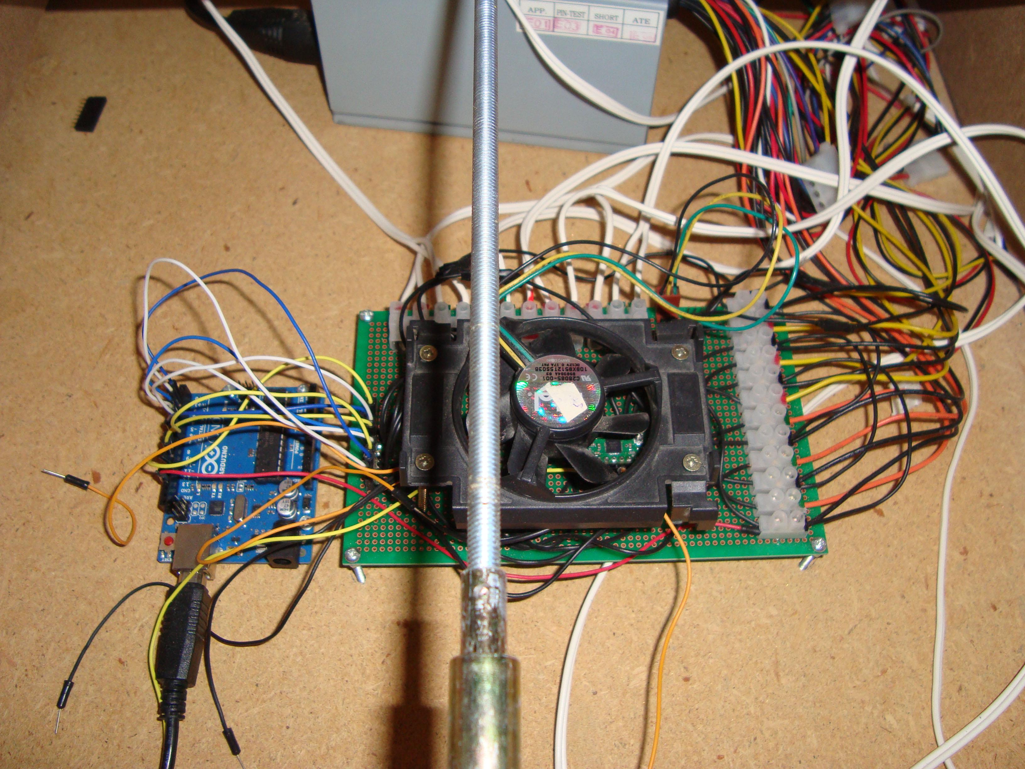 Construir una fresadora CNC Electronica