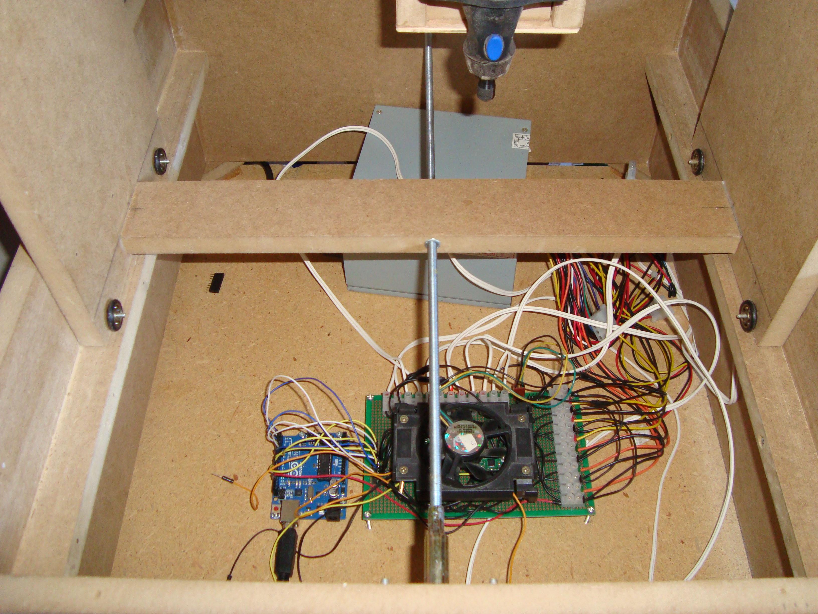 Construir una fresadora CNC Electronica2