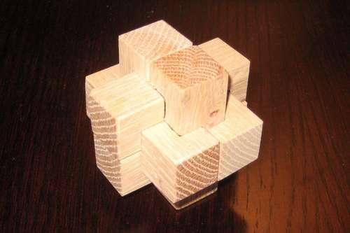 puzzles de madera burr