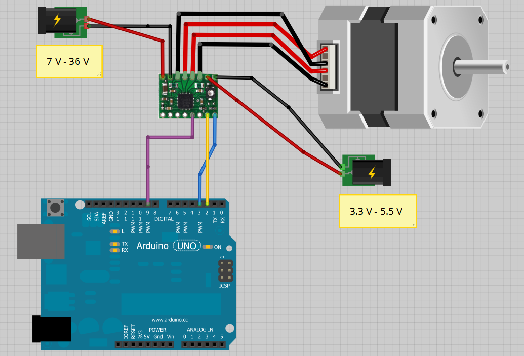 Construir una fresadora CNC Plano_conexiones