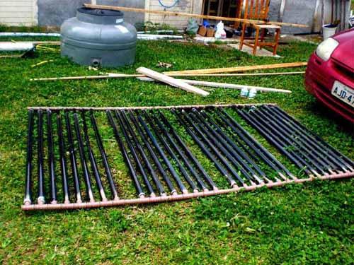 calentador de agua casero