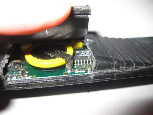 cambiar la pila de la cinta de un pulsometro
