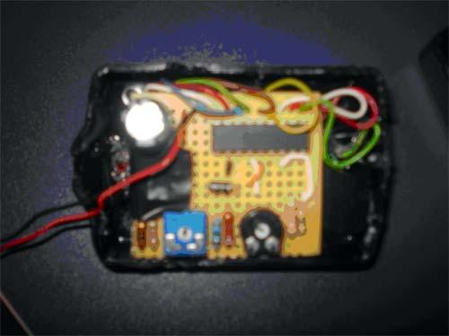 componentes comprobador de baterias
