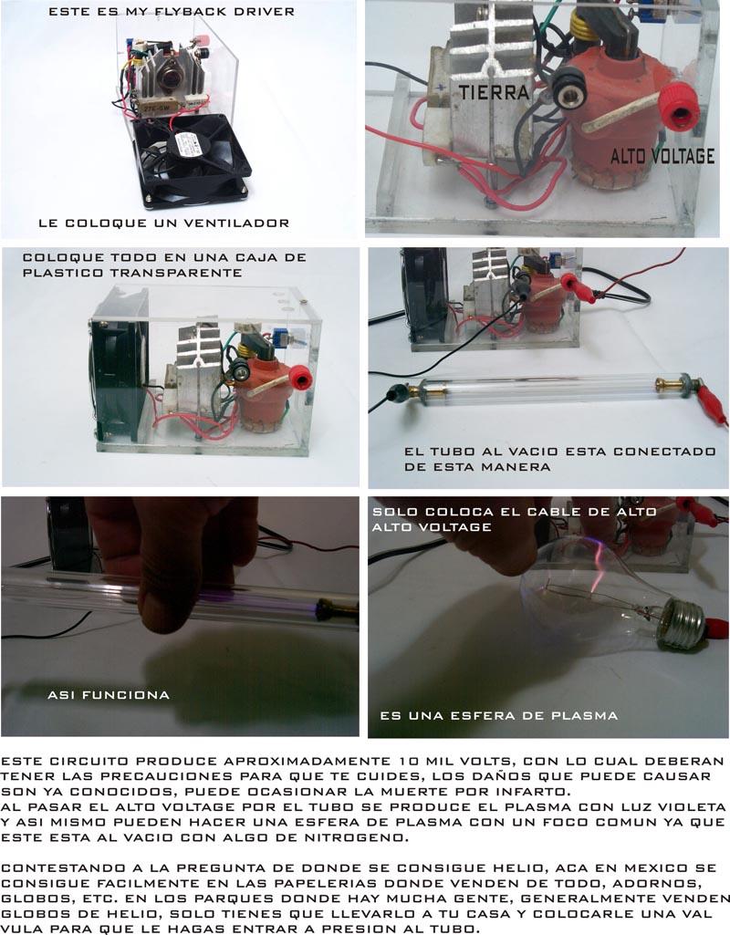 [P] Ayuda con Bobina deTesla Hecho Con FlyBack de Tv a Color