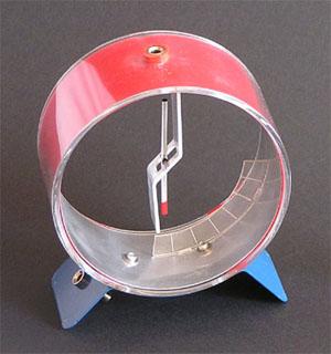 electroscopio comercial