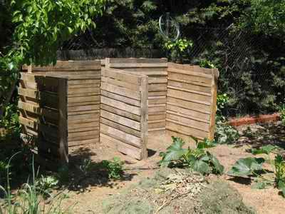estructura del compostador casero