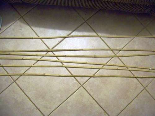 flechas de bambu