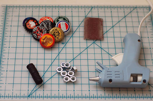 materiales para hacer chapas magneticas