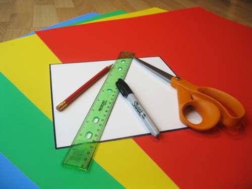 materiales para hacer un puzzle