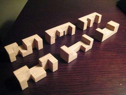 piezas del puzzle burr