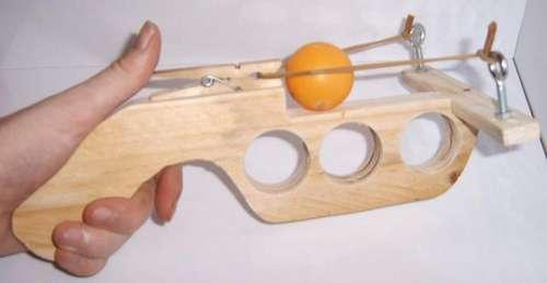 como hacer una pistola de ping pong casera