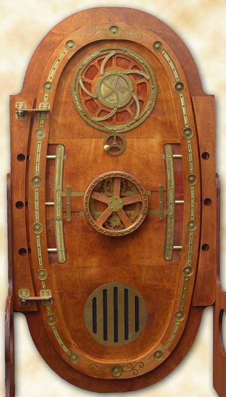 puerta inspirada en el nautilus de julio verne