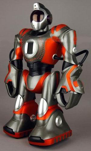 robot robosapiens rs media