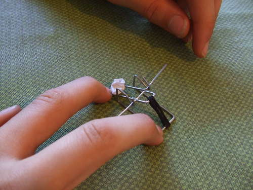 hacer catapulta con clips