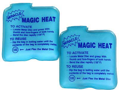 obtener magic heat hielo seco