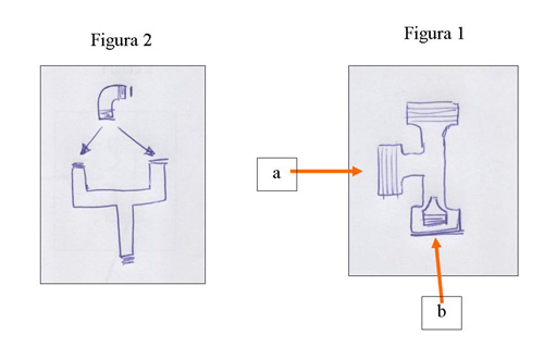 detalle piezas maquina espuma