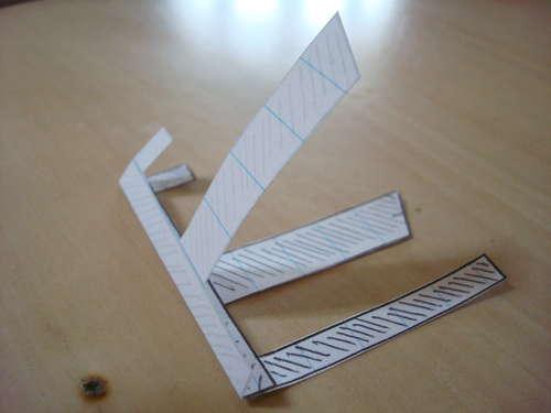 montar planeador de papel