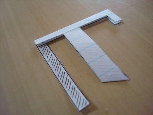 estructura planeador aeroplano papel