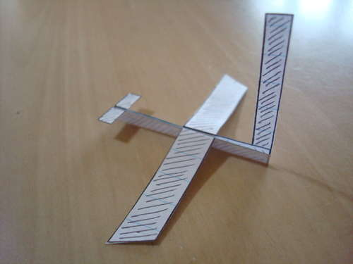 pico avion aeroplano papel