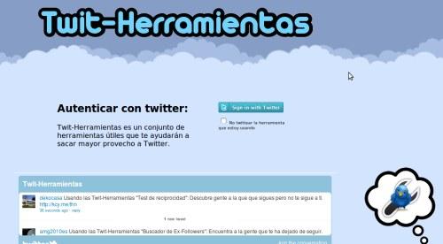 herramientas de twitter