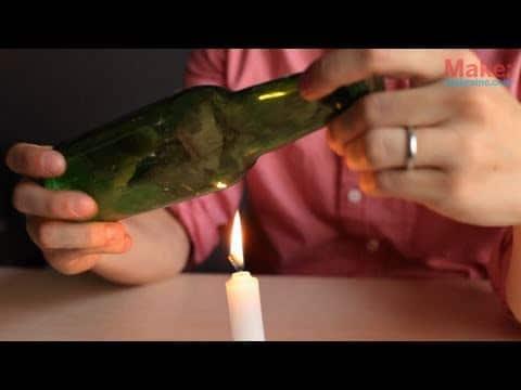Otra forma de cortar botellas de cristal ikkaro - Cortar botella cristal ...