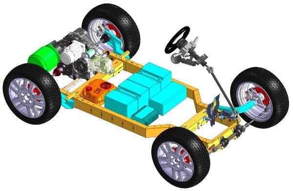 como construrir un coche tu mismo DIY, el TAbby