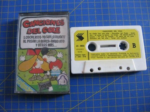 Cassettes o cintas de música, una tecnología obsoleta