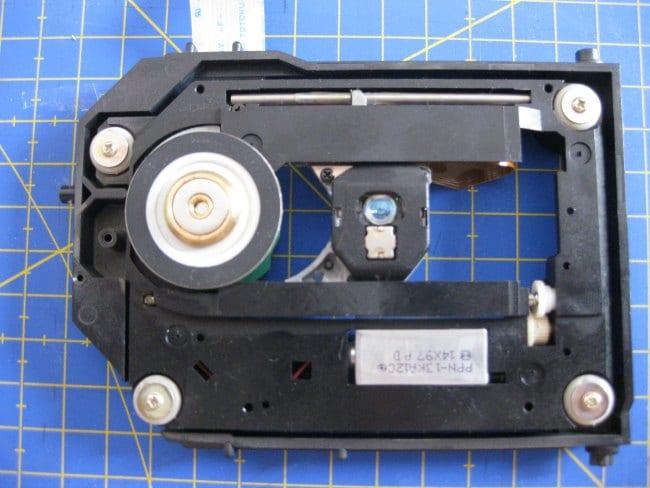 Estructura guía para mover el laser