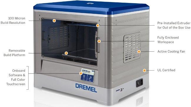 Impresora 3D idea Builder de Dremel