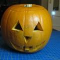 Decorar calabaza de Halloween casera