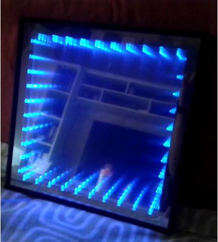 Espejo de leds infinito ikkaro - Espejos con leds ...