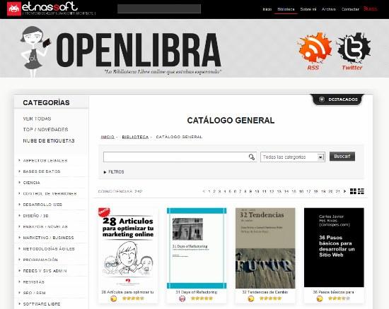 libros gratis openlibra