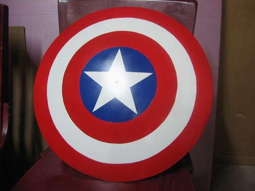 como hacer el escudo del capitan america con una antena parabólica