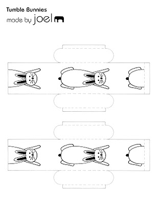 esquema de papel movil conejos
