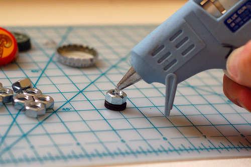 como hacer chapas magneticas