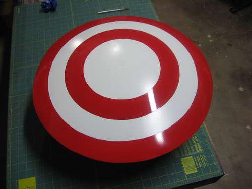 imprimacion rojo escudo capitán américa