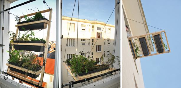 jardn urbano para ventanas