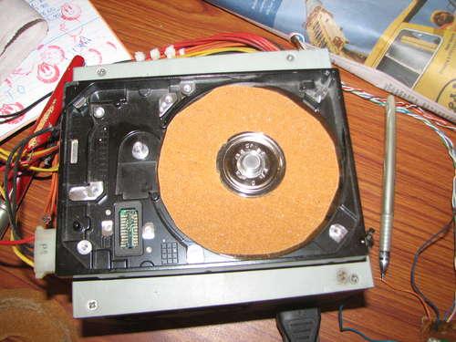 como hacer lijadora con disco duro