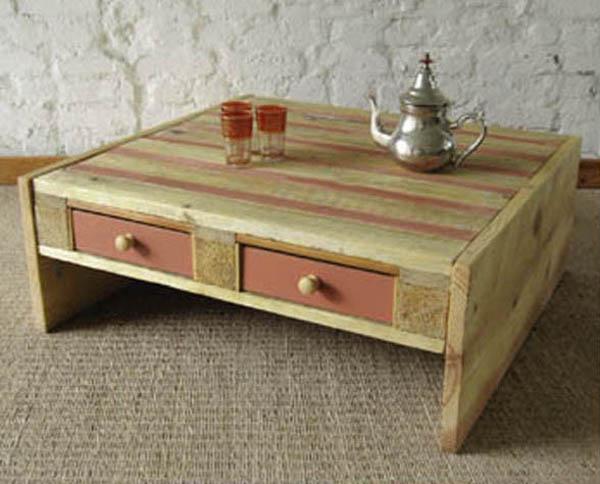Como hacer una mesa de centro con un palet ikkaro for Como hacer una mesa de centro