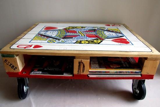 Como hacer una mesa de centro con un palet Ikkaro