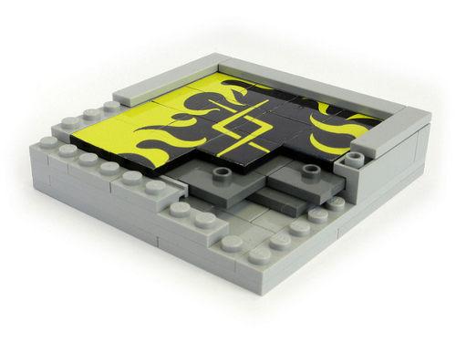 como hacer un puzzle deslicante LEGO