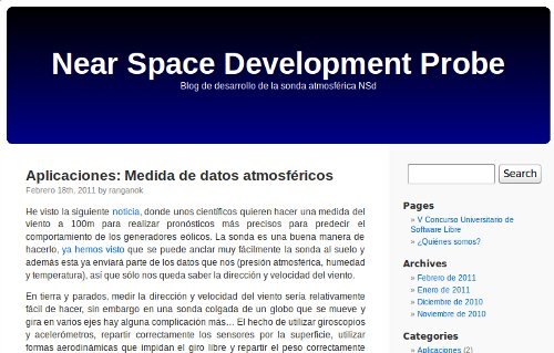proyecto sonda atmosferica nsd