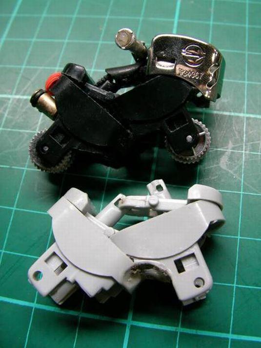 chasis moto mechero