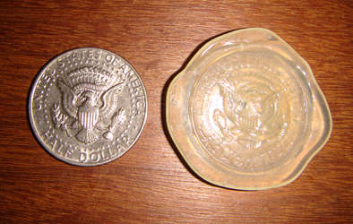 moneda  y molde
