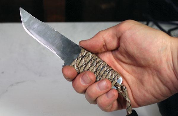 Como Hacer Un Cuchillo Casero Con Una Hoja De Sierra Vieja
