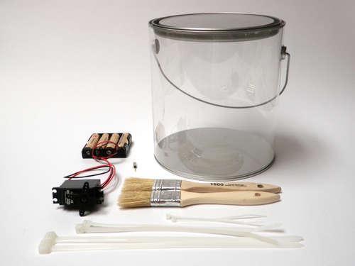 materiales para construir robot