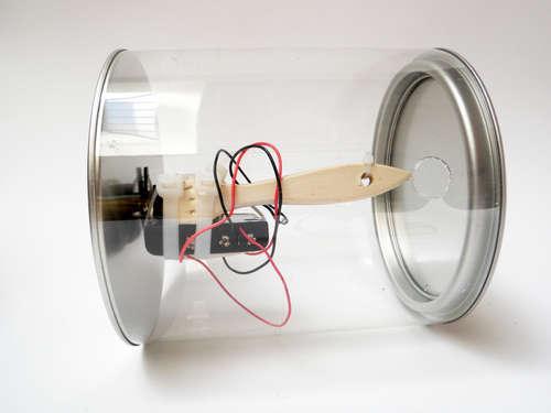 como hacer robot barreller