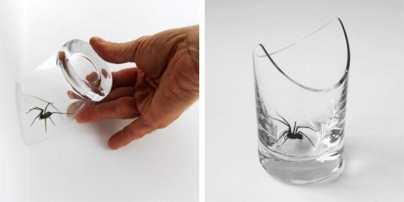 Dise os interesantes 1 ikkaro for Cortar cristal para gatera