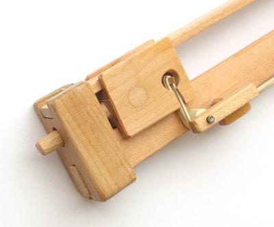 despiece pistola de madera