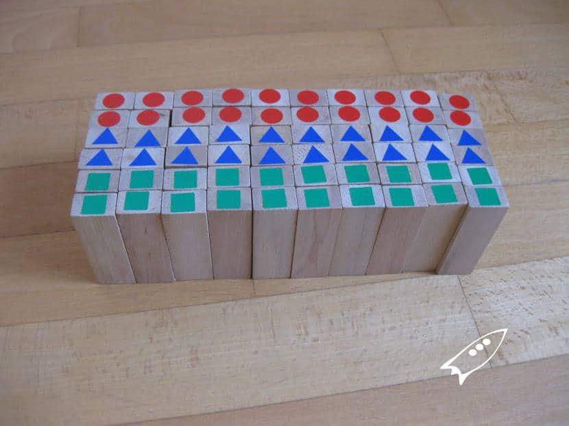 Como jugar al Jenga de colores